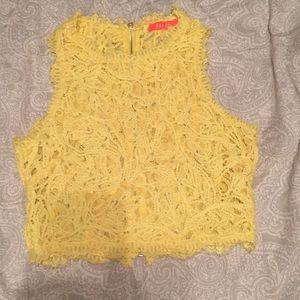 Banjul Lace Crop Top